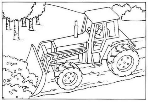 coloriage bulldozer chantier dessin gratuit  imprimer