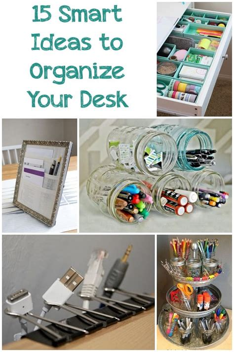 cool things for desk 15 smart ideas to organize your desk work office