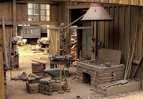 photo blacksmith shop doane valley shops logging