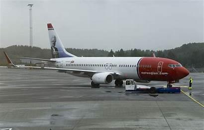 Norwegian 800 Bergen B737 Airport Ln Dyb