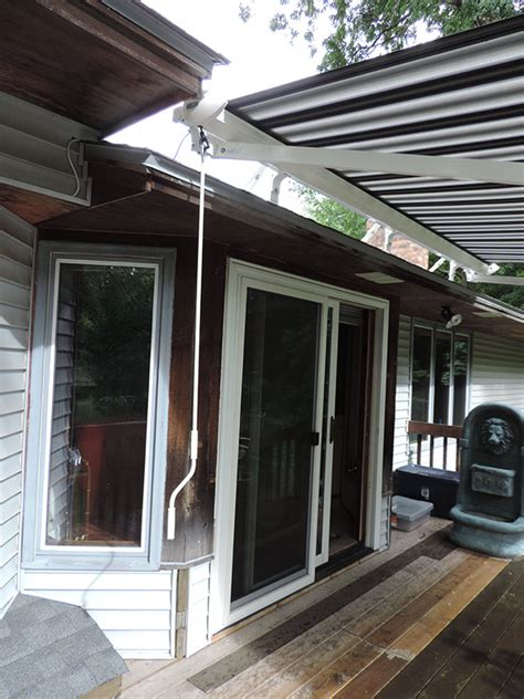 retractable awnings skyview retractables sunbrella motorized awning