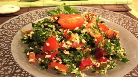 libanais cuisine recette rapide le taboulé libanais fastgoodcuisine