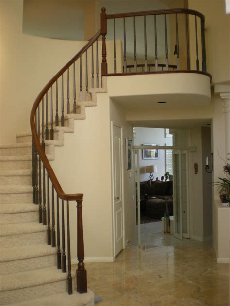 Faux Real Finishes - Stairways & Bannisters