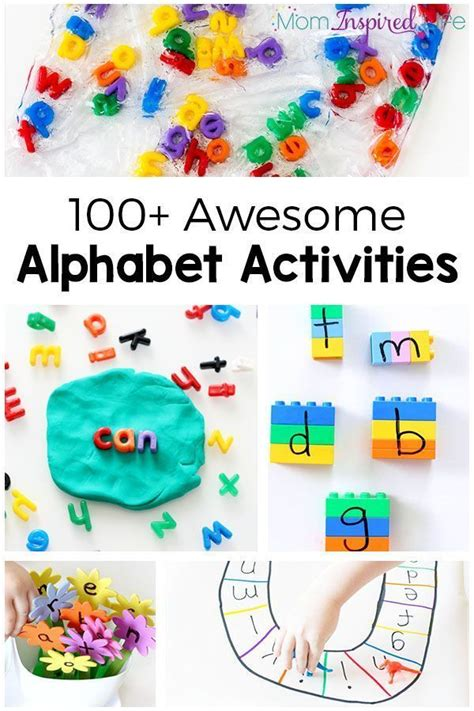 158 best alphabet activites images on letters 782 | 8a91e463ff395b4bf9c89b0b2dd6d714 preschool alphabet activities activities for kids