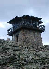 Squaw Mountain Fire Lookout Tower