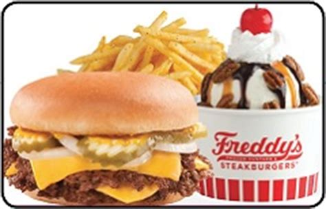 Give them the gift of choice with a freddy gift card. Freddy's Steakburgers Gift Card Balance Check   MrBalanceCheck