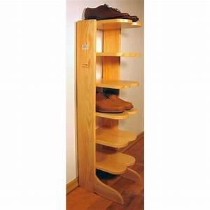 Range Chaussures Bois : range chaussures tag 6 en bois massif naturel achat vente petit meuble rangement range ~ Dode.kayakingforconservation.com Idées de Décoration