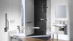 Barrierefreies Bad Maße : die barrierefreie badgestaltung beginnt bei der bodengleichen dusche und endet beim licht am ~ Frokenaadalensverden.com Haus und Dekorationen