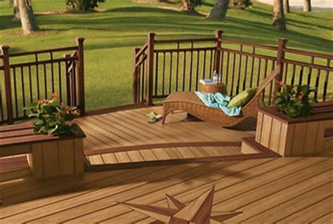 composite decking ideas  design plans pictures