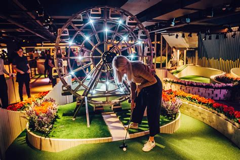 crazy golf club swingers tees  multimillion pound