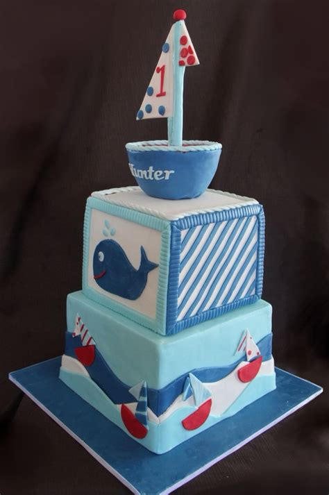 Boat Birthday Cake by Sail Boat Birthday Cake Cakecentral