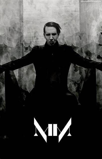 Manson Marilyn Emperor Pale Iphone Deviantart Wallpapers