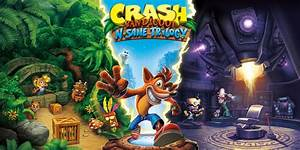 Crash Bandicoot N Sane Trilogy Nintendo Switch Games