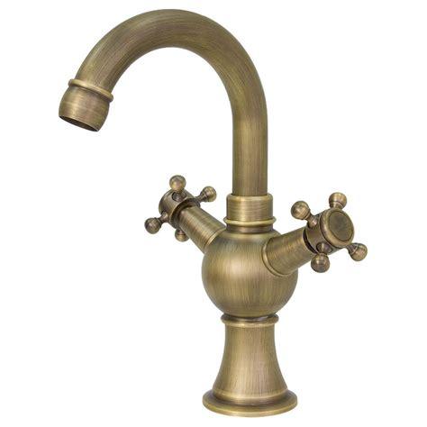 rubinetto antico bagno lavabo miscelatore rubinetto antico ottone due