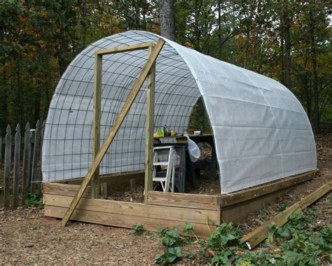 Tractor Supply Wood Storage Sheds by A Tiny Homestead Building A Permanent Greenhouse With