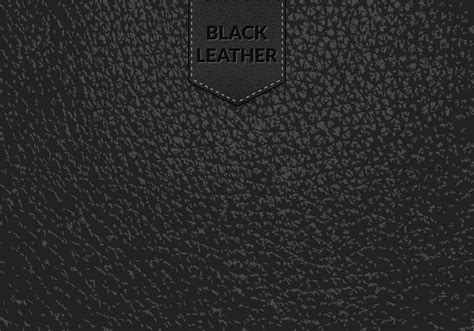Black Leather Background Black Leather Vector Background Free Vector