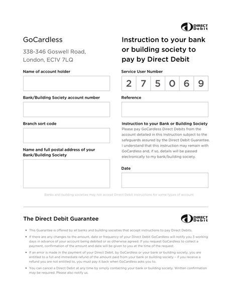 introduction  direct debit mandates gocardless