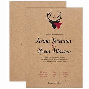 the stag wedding invitation stationery and templates cheap With wedding invitation template deer
