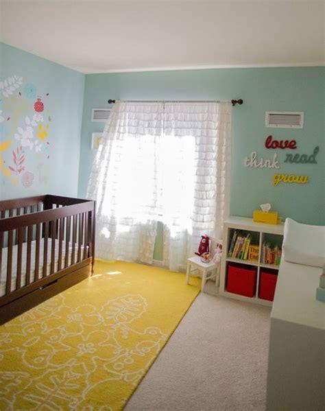 aqua nursery rug thenurseries