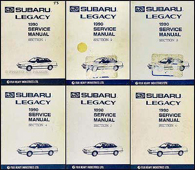 how to download repair manuals 1991 subaru legacy on board diagnostic system 1990 subaru legacy repair shop manual supplement original
