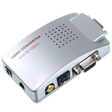 converter vga to rca pc to tv composite rca to vga av to vga converter connect