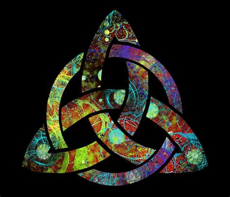 Celtic Triquetra or Trinity Knot Symbol 3 Digital Art by ...