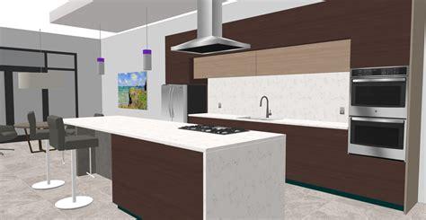 Interior Modern Kitchen Free 3d Model  Us Architectural