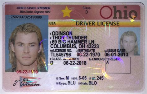 Toledo Ohio Drivers License Template by Florida Drivers License Template Affiliatessokol