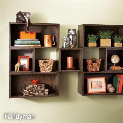 diy box shelves  family handyman