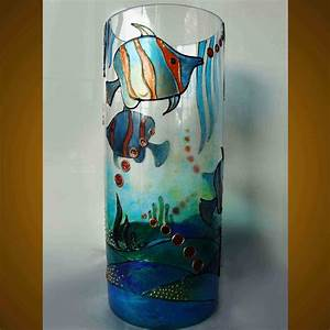 Diy, Glass, Painting, Patterns, Ideas