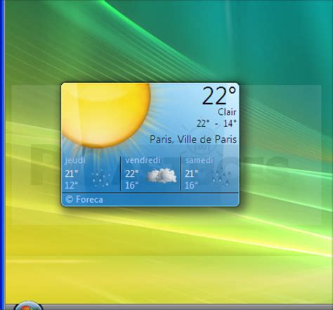 horloge bureau windows 8 telecharger gadget pour volet windows vista