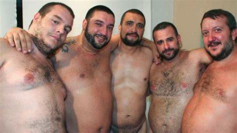 Spanish Bears Bukkake Gangbang Bearfilms Bear Films