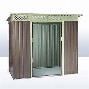 Garten Gerätehaus Metall : ger tehaus gartenhaus dublin metall 4 8 qm ~ Whattoseeinmadrid.com Haus und Dekorationen