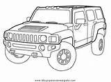 Hummer Disegno Automobili Colorare Coloring Drawing Kolorowanki Malvorlage Mezzi Trasporto H2 Samochody Malvorlagen Lastwagen Druku Disegni Jeep Sketch Kleurplaat Ausmalbilder sketch template