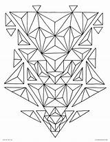Triangles sketch template