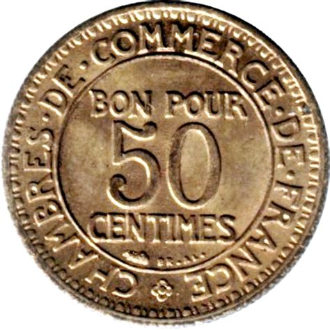 chambres de commerce 50 centimes chambre de commerce numista