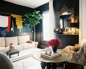 Winsome small room furniture for living room and cool wall for Interior decorating dark rooms