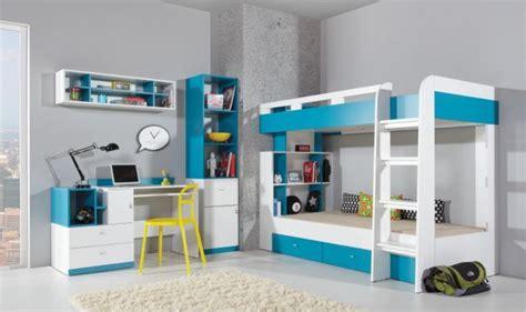 lit enfant superpose design avec tiroirs de rangements