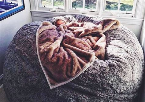 Lovesac Supersac by This Lovesac Pillow Chair Is As Big As A Bed And You Ll