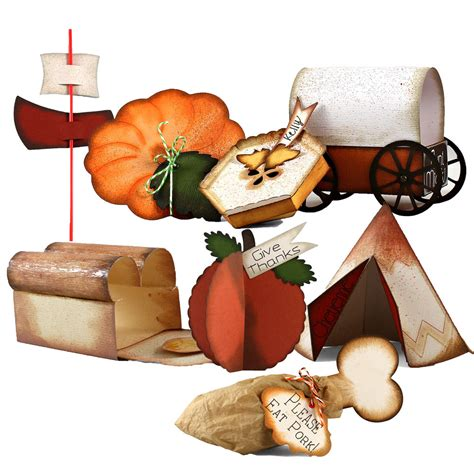 thanksgiving table collection wpc ai  svg cutting