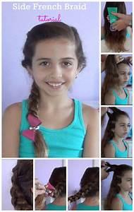 Side French Braid tutorial with video - Hispana Global