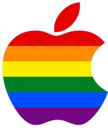 apple logo lgbt colors tim cook recently led 5 000 apple flickr