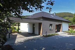 Was Ist Ein Bungalow : ein bungalow mit holzakzenten isowoodhaus ~ Buech-reservation.com Haus und Dekorationen