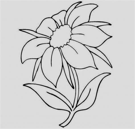 Simple Flower Drawing Ideas Drone Fest