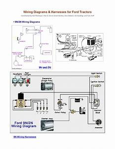 Wiring Diagrams For Ford Tractors By Dan Moss