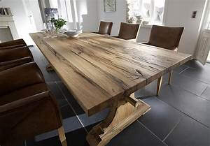 Holztisch Massiv Esszimmer : holztisch massiv rustikal das beste aus wohndesign und m bel inspiration ~ Indierocktalk.com Haus und Dekorationen