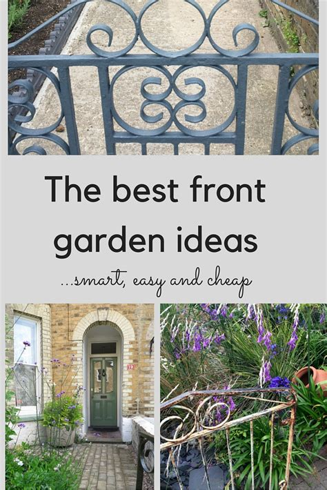 The Best Front Garden Ideas  Smart, Easy And Cheap The