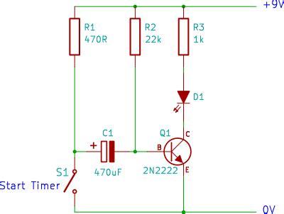 tutorial  transistor timer circuit