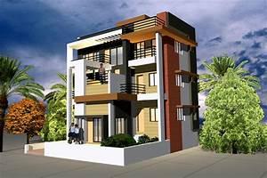 Exterior Elevation design GharExpert