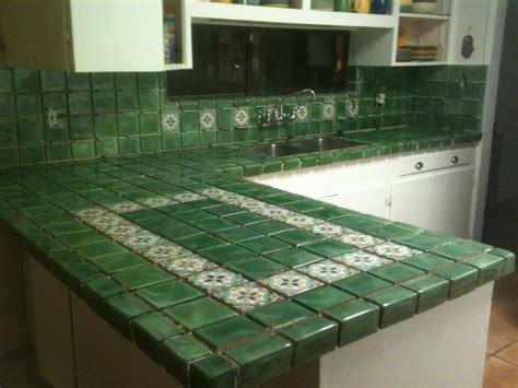 mexican tile countertops